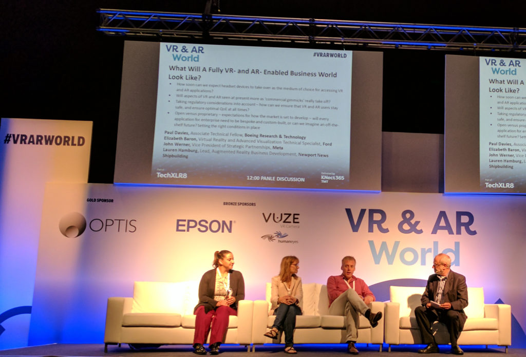 #VRARWORLD Speakers
