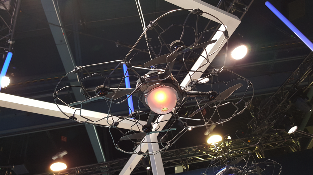 CES Intel light show drones